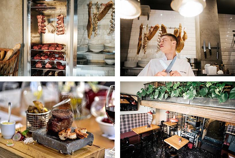 Restauracja Karramba Bydgoszcz - sezonowanie mięsa